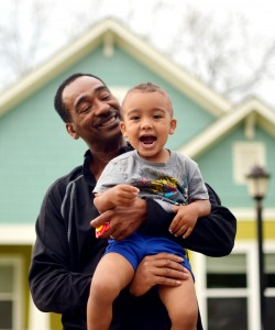 Jesse Tolbert and his family were able to purchase a home with help from a Fahe member organization.